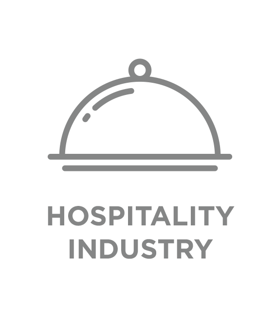hospitality industry type button
